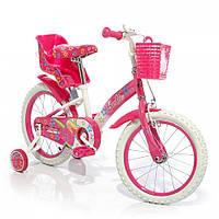 Велосипед двухколесный Азимут Барби 12  дюймов