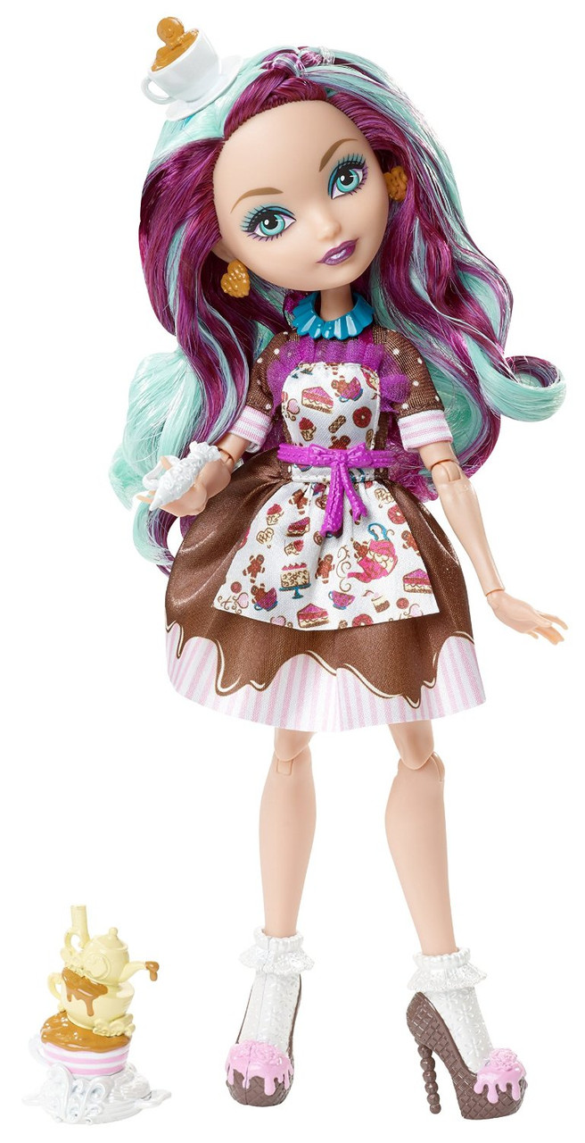 Madeline Hatters face coloring page  Ever After High