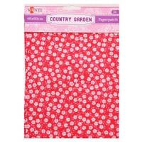 Бумага для декупажа, Country garden, 2 листа 40*60 см 952507