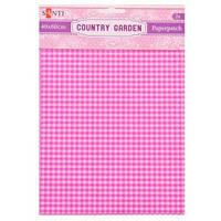Бумага для декупажа, Country garden, 2 листа 40*60 см 952509