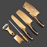 Набор ножей дамасская сталь 6 предметов