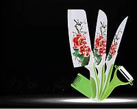 Набор ножей металлическая сталь 5 предметов