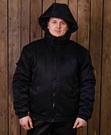 """Мужские рабочие утепленные куртки """"Мистраль"""" укороченная черная"""