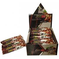 Протеиновый батончик 36% орех Nutella Power Pro 60 грамм с цельными орехами упаковка