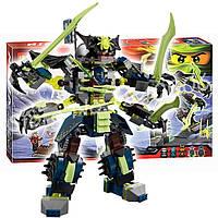 Конструктор Bela Ninja (аналог Lego Ninjago) 10399 Битва Титановых Роботов 757 дет
