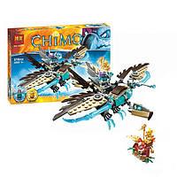 Конструктор Bela 10291 аналог LEGO Chima Ледяной Гриф - Планер Варди  216 деталей