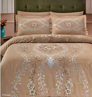 Комплект постельного белья TAC Сатин де люкс LOUVRE V01
