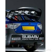 Антикрыло спойлер на крышку багажника для Subaru Impreza III WRX 2008-2010 г.в.