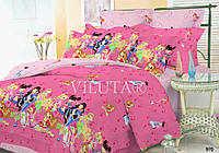 Постельное белье в детскую кроватку 970 Вилюта