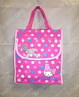Детская розовая сумочка для сменки