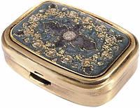Компактная карманная пепельница Leif Lowe 382835GP золотистый