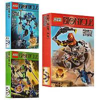 Конструктор Bionicle (аналог LEGO Биониклы)  арт.707-1,2,3