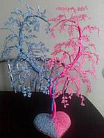 "Сувенир подарок дерево ""Любви"" из бисера"