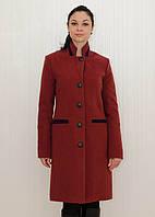 Элегантное зимнее кашемировое пальто классического покроя