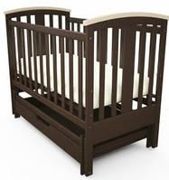Кроватка детская Mia Woodman с универсальным маятниковым механизмом (поперечное и продольное качани