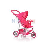 Детская трехколесная коляска для кукол Melogo 9377