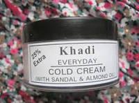 Крем зимний с сандалом и миндальным маслом и витамином Е, Khadi Herbal, 50гр