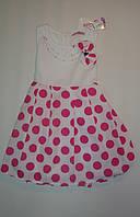 Платье летние  на девочку  3-5 лет