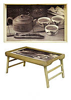 Поднос на ножках Чайная церемония