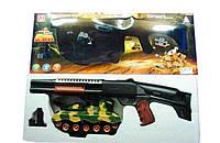 Тир на батарейках 1445A,  мишень - танк