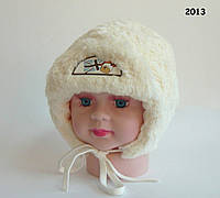 Зимняя шапка Norman для мальчика на завязках, TM Jamiks, Польша