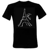 Сувенирная печать на черных футболках