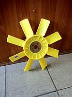 Крыльчатка вентилятора охлаждения Газель (с пластиной)