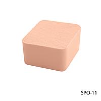 Спонжи SPO-11 для нанесения и коррекции макияжа (4 шт, ромбовидной формы, толстые)