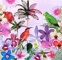 Салфетка декупажная Райские птицы 5549