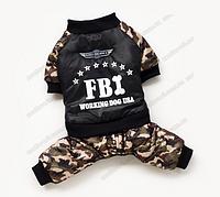 Комбинезон для собаки FBI