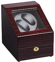 Шкатулка для подзавода часов, тайммувер для 2-х часов Rothenschild RS-024-2-EB