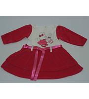 Платье качественное   на девочку 1-3 года