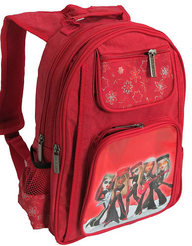 Рюкзак школьный детский Bagland Галактика 17270-3 красный