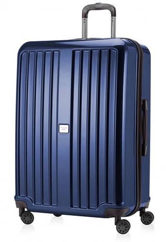 Прочный чемодан-гигант из пластика 126 л. HAUPTSTADTKOFFER xberg maxi blue синий