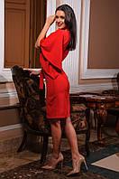 Платье женское С рукавом-воланом