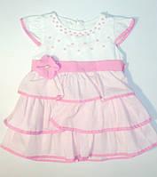 Платье красивое  на девочку  0-3 года