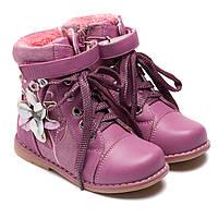 Весенние сапоги для девочки, размер 24-29