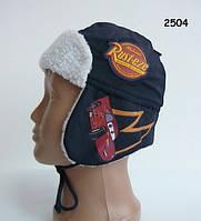Модная демисезонная шапка Тачки Cars Disney для мальчика