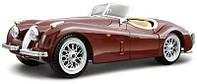 Авто-конструктор Bburago - JAGUAR XK 120 ROADSTER (1948) (вишневый, 1:24)