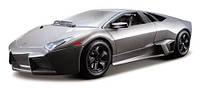 Авто-конструктор Bburago - LAMBORGHINI REVENTON (матовый белый, серый металлик, 1:24)