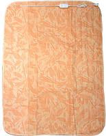 Электропростынь Турция-Австрия 160х120 см (оранжевый с рисунком)