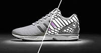 Кроссовки Adidas Zx Flux Xeno Silver