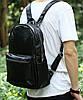 Стильный кожаный рюкзак под кожу крокодила на 13 л Tiding t3123