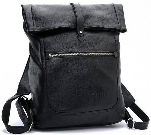 Современный городской рюкзак из натуральной кожи на 8 л Tiding t3058