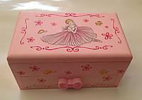 Музыкальная шкатулка с балериной 6018