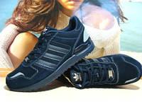 Кроссовки мужские Adidas ZX темно-синие 42 р.