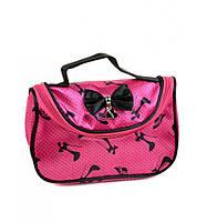 Розовая косметичка-сумочка