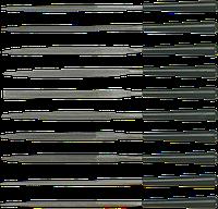 Надфили по металлу, набор 10 шт., Topex, 06A015
