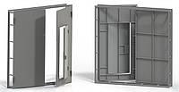 Ворота гаражные металлические, 2,5х2,5 м