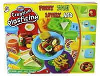 Набор для лепки с пластилина Сэндвичи Creative Plasticine 1210А